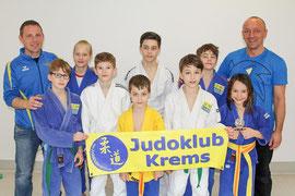 Sportler des Judoklub Krems am 21. Int. Vöcklabrucker Judoturnier. Foto: zVg