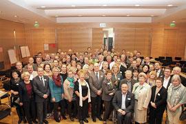 Vertreter aus Politik, Verwaltung und Bürger arbeiteten an der Zukunft der Stadt Krems mit. Foto: Stadt Krems.