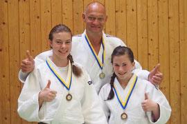 Michaela Maier, Dietmar Ulrich, Julia Strasser. Foto: zVg