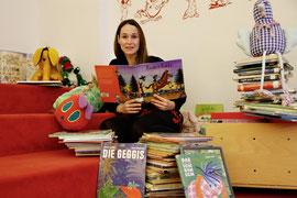 Eva Stockinger liest am 7. Mai in der Stadtbücherei für Kinder. Foto: Stadt Krems.