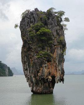 Der Ko Tapu - oder James Bond Felsen