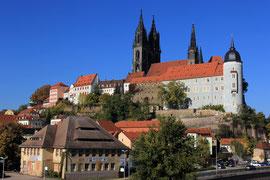 Die Albrechtsburg und der Dom zu Meißen