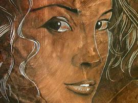 Classical Portrait painting in a Renaissance Art Style