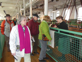 Our Group Toured the Boott Cotton Mill First