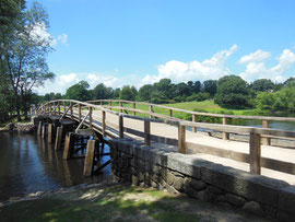 Concord Bridge Looks Much as it Did in 1775