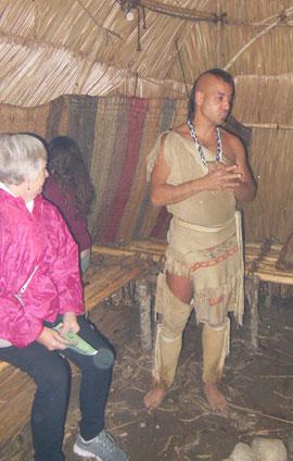 This Wampanoag Interpreter was very Helpful