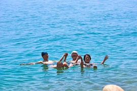 死海。本当に浮かびました!