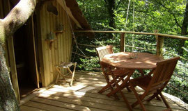 éco-tourisme cabane dans les arbres