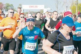 Foto: Thomas Schmidt - Start des 9. Goitzsche Marathon