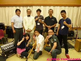 ハーモニカ合宿限定の『嵐山スペシャルバンド』。素敵ななメンバーです!!