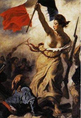 Liberté guidant le peuple Delacroix