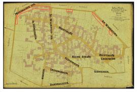 Bild 2: Igstadter Ortsplan von 1890