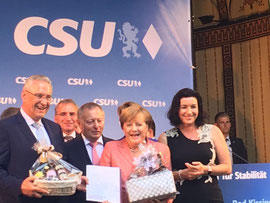 Wahlveranstaltung mit Dr. Angela Merkel