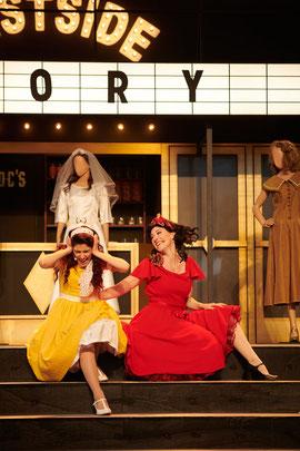 Lea Kirn West Side Story Theater Koblenz Musicaldarstellerin Schauspielerin Festung Ehrenbreitstein