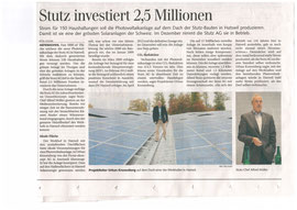 Pressebericht Tagblatt 25.10.2012