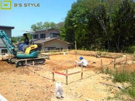 掘削・床付け工事