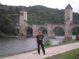 Pont Cahors, Cahors, gr65, compostelle, pélerin