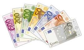 Des euros en billet
