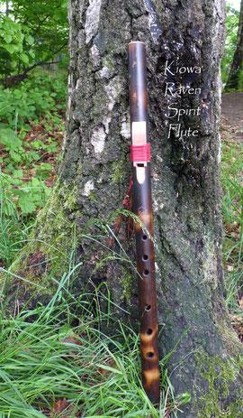 Kiowa Raven Spirit Flute - Rabenflöte Kommunikation mit Raben