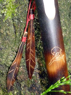 The Kiowa Raven Spirit Flute