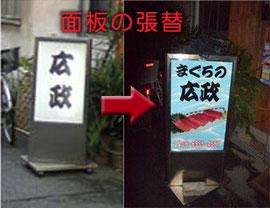 電飾スタンドサイン