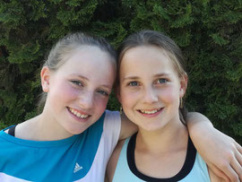 Selina Striedinger und Hannah Hofmann - Mädchen U13