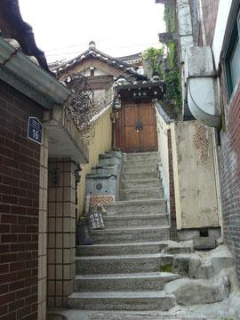 北村(ブッチョン)は坂の街
