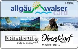 Allgäu-Walser-Card Kleinwalsertal