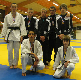 Les juniors du JCA