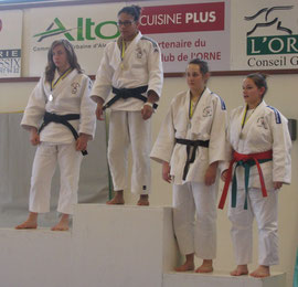 Médaille de bronze pour Alison Auger -63 kg