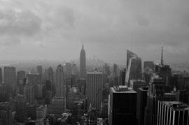 Vue depuis le Rockfeller à New York / Source : Trip85.com
