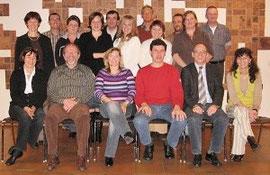 Gründungsmitglieder des Fördervereins
