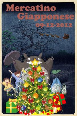 Totoro Natale al mercatino giapponese