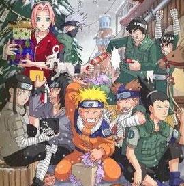 Buon Natale! Carina quest'immagine di Naruto ^___^
