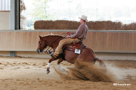 Jocker's Bit Of Copper Dust NRHA Open Champion