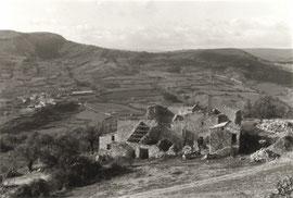 Le hameau de St Hippolyte au début de Longo maï