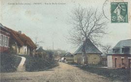 Le village de Proisy
