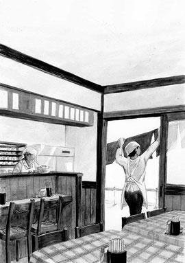 「食堂のおばちゃん」 山口恵以子著 ランティエ 角川春樹事務所 2014年12月号