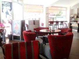 Café Märkisch Edel in Eberswalde, Am Markt. Eine meiner Lieblings-Locations für Dates und zum Schreiben und Lesen.
