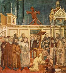Giotto di Bondone (1267-1337) Istituzione del Primo Presepio di San Francesco d'Assisi a Greccio