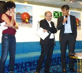 Carina, Serge Orru et Pierre Mattei
