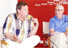 Hervé Somnard (à gauche)  et Gilbert Chamonal