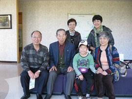 東京のY・Wさんご家族、札内のM・Mさんご夫妻