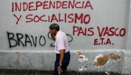 Pintada en un muro de Caracas