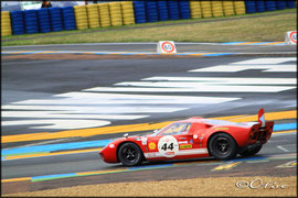 Gt40 engagé par Ecurie Ford France