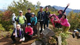 頸城駒ヶ岳山頂。