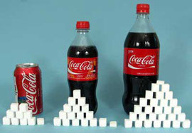 azúcar Coca Cola