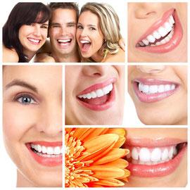 Weissere Zähne durch Zahnaufhellung (Bleaching): Schadet den Zähnen nicht und schützt sie vor Karies.