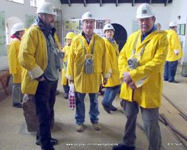 Mitglieder des Bergbau- Traditionsverein Hohwald e.V