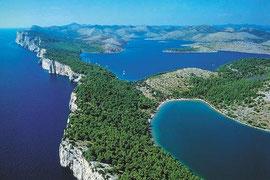"""Kornati""- Nationalpark und Dugi Otok ""Silbersee"""